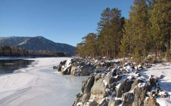 Горный алтай зимой фото 9