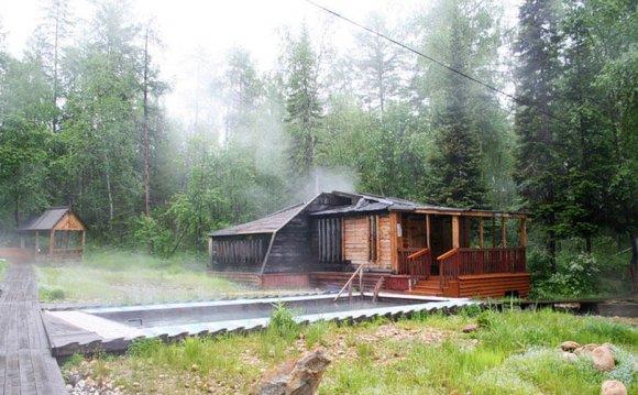 На Байкале из-за лесного