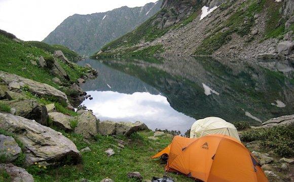 Трекинг, горы Кавказа