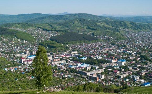 Вид на Горно-Алтайск / Фото из